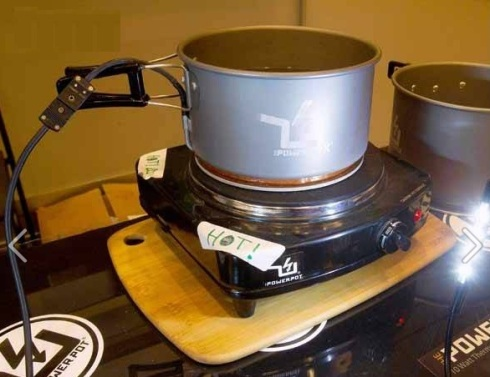 Pot to charge your gadgets